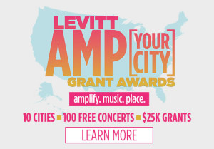 New Funding Opportunity to Produce Outdoor Free Concerts