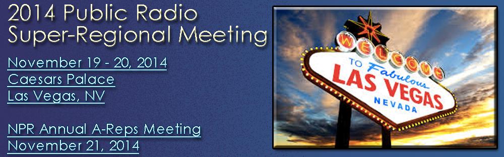 Presenting Public Media Database plans at Public Radio Super-Regional Meeting