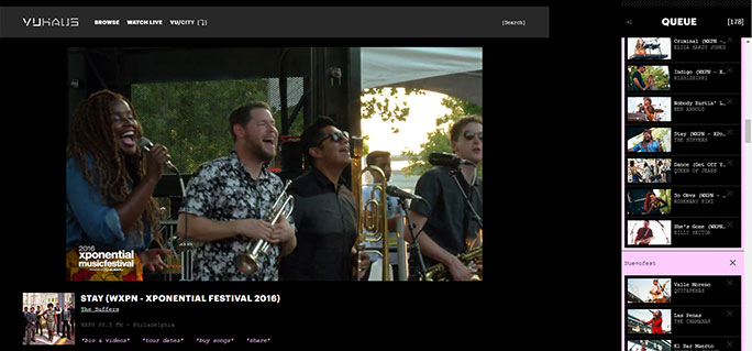 CPB Spotlight on VuHaus: Public Media Sets a Digital Stage for Music Discovery